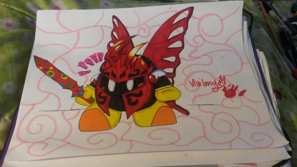 Butterfly Borb by vivilong
