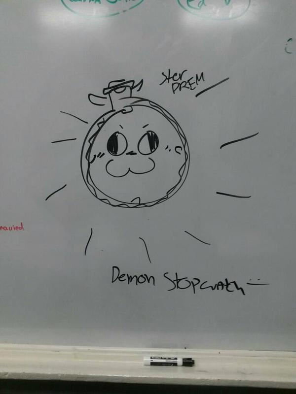 Demon Stopwatch by vivilong