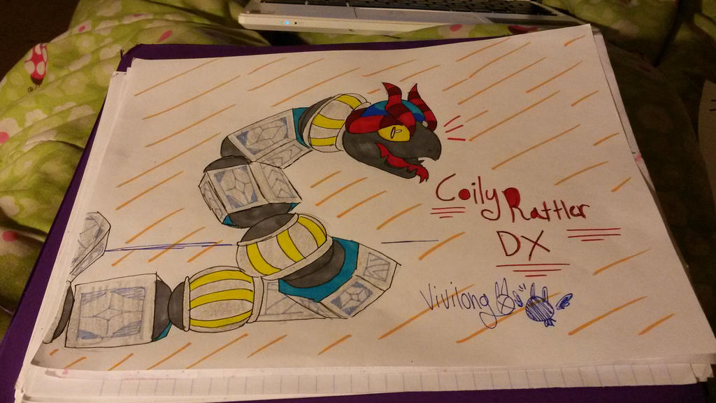 Coily Rattler DX by vivilong