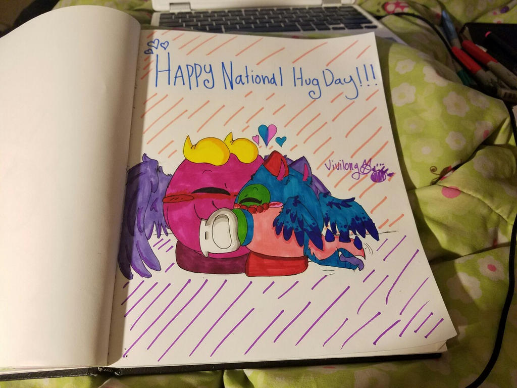 Happy National Hug Day! by vivilong