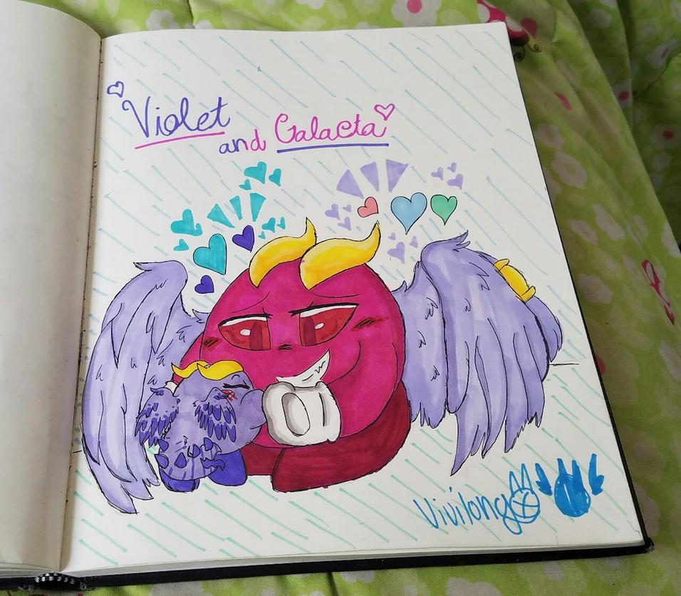 ~Violet and Galacta~ by vivilong