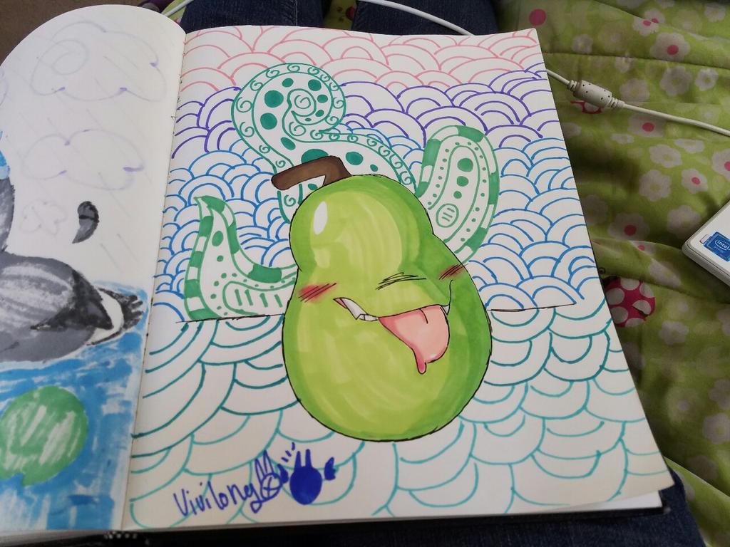 A Pear by vivilong