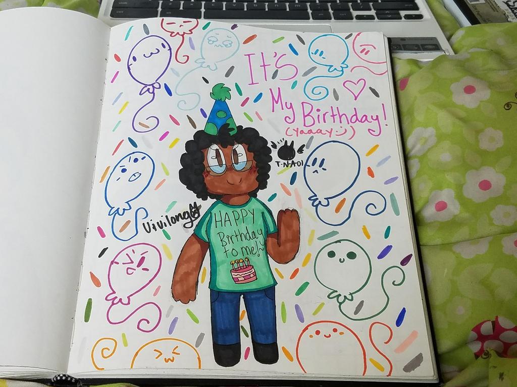 It's my Birthday!~ by vivilong