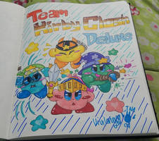 Team Kirby Clash Deluxe! by vivilong