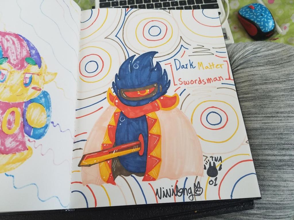 ~Dark Matter Swordsman~ by vivilong