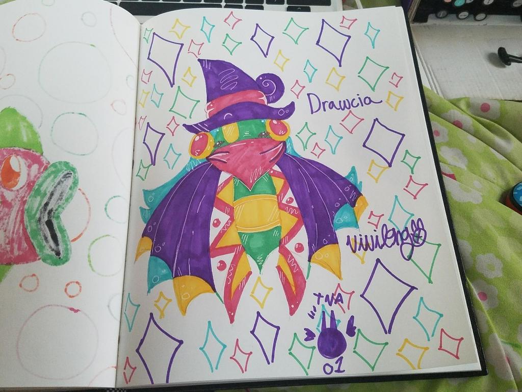 ~Drawcia~ by vivilong