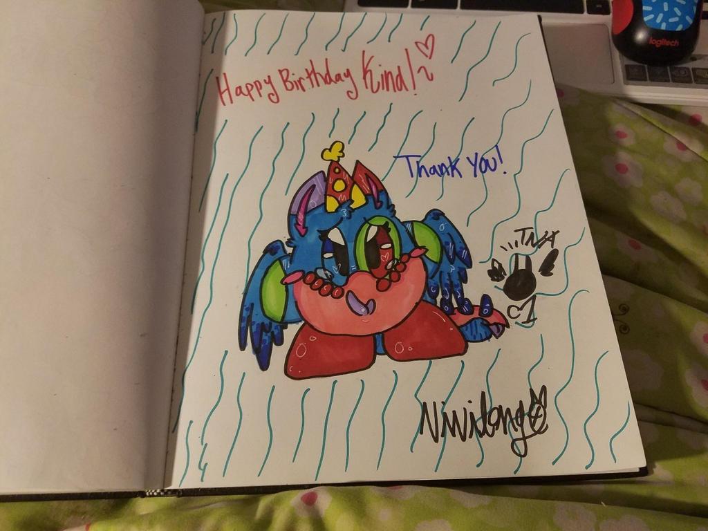 Happy Birthday Kina!~ by vivilong