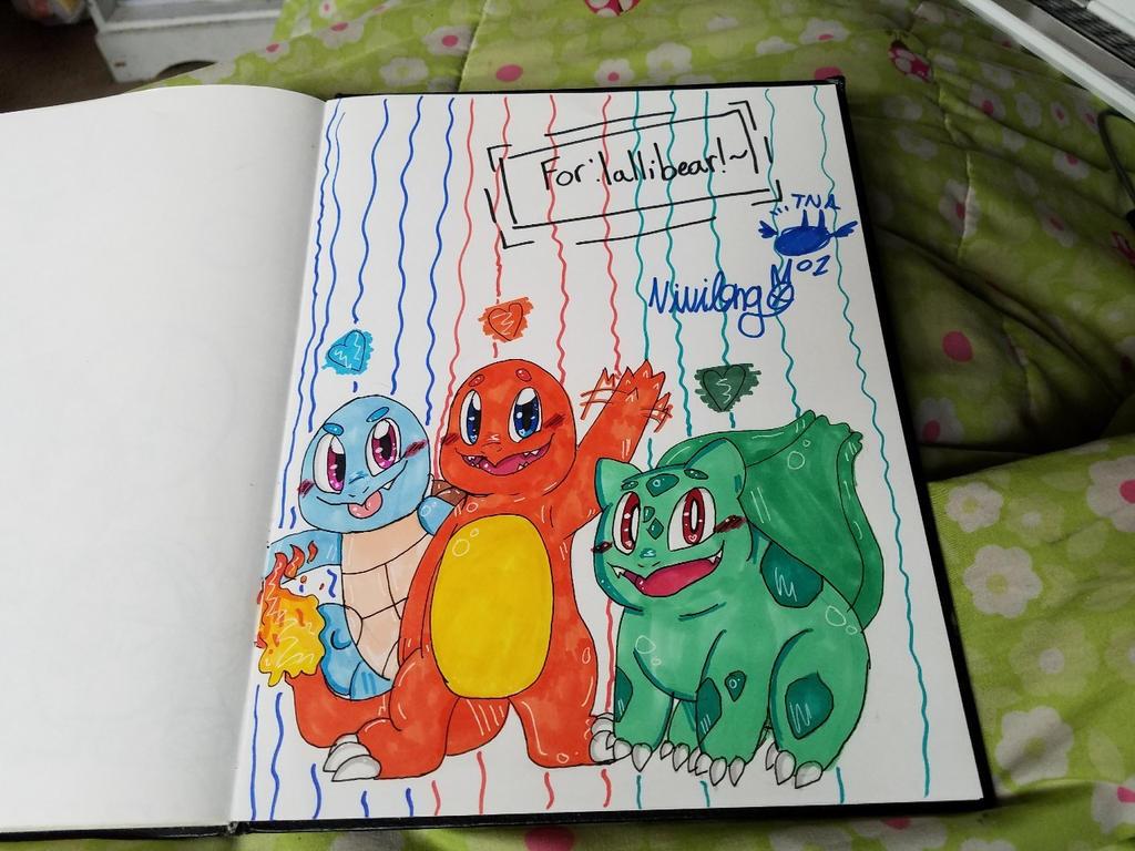 AT: The Pokemon Boys~ by vivilong