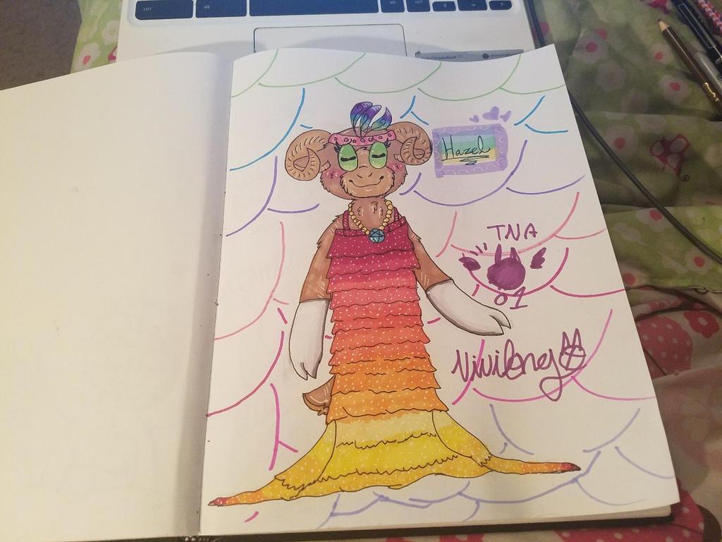 Cuphead Oc: Hazel by vivilong