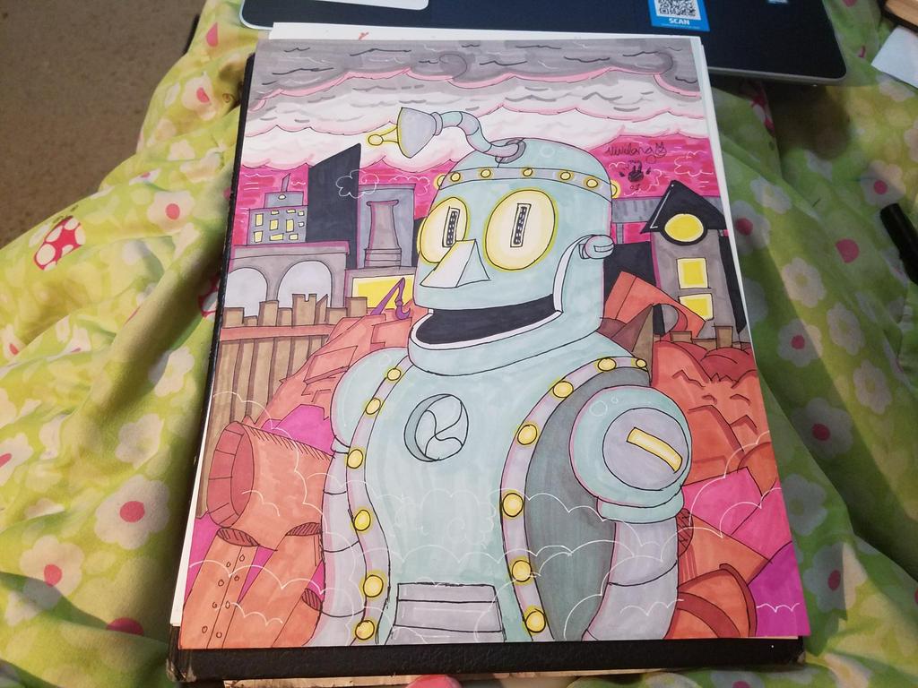 Robobot son by vivilong