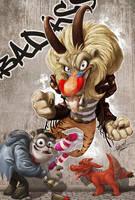 Fan art: Cazadores de Gonzos by theartofraku