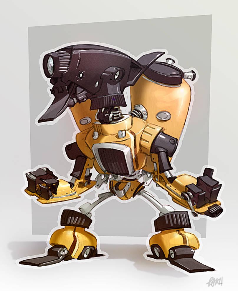 Robotized: Atomizator by theartofraku
