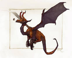 Dragons: Red by theartofraku