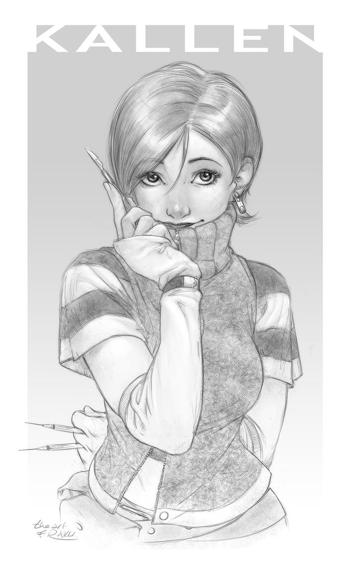 Get a Sketch 23: Kallen by theartofraku