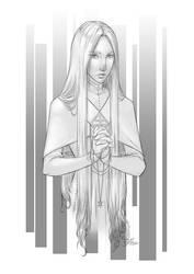 Commission: Versace by theartofraku