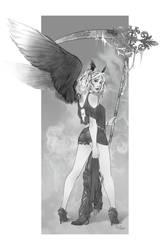 Commission: Alea by theartofraku