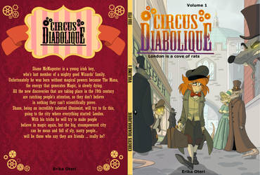 - Circus Diabolique_Book Cover_Volume 1 - by PencilTree