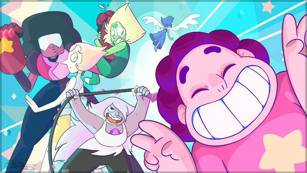 - We are the Crystal Gems -