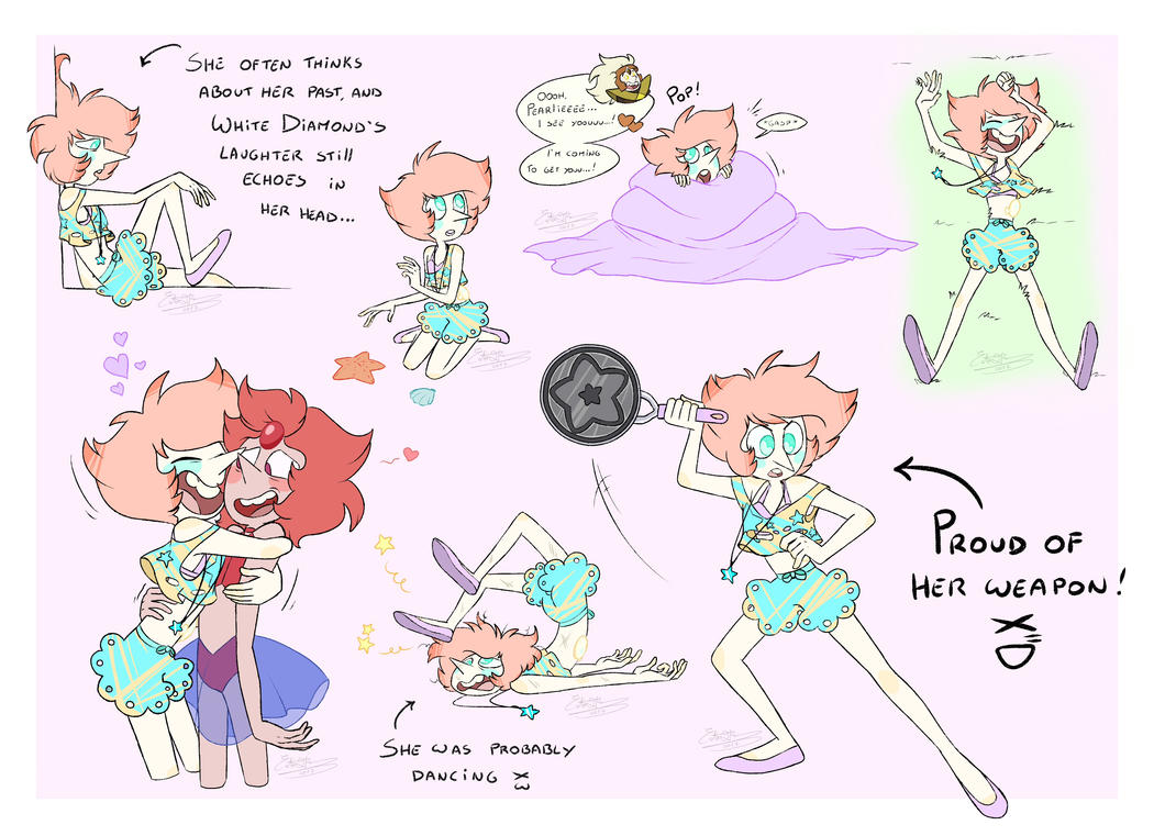 - Gemsona_Sketches - by PencilTree