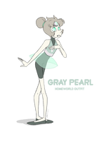 - Gray Pearl_Homeworld outfit - by PencilTree