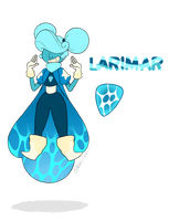 - Gem OC_Larimar (redesign) - by PencilTree