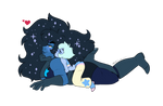 - Snuggles with the galaxy -
