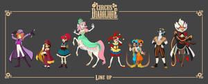 - Circus Diabolique_OCs line up -