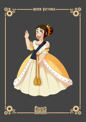 - Queen Victoria_re-design - by PencilTree