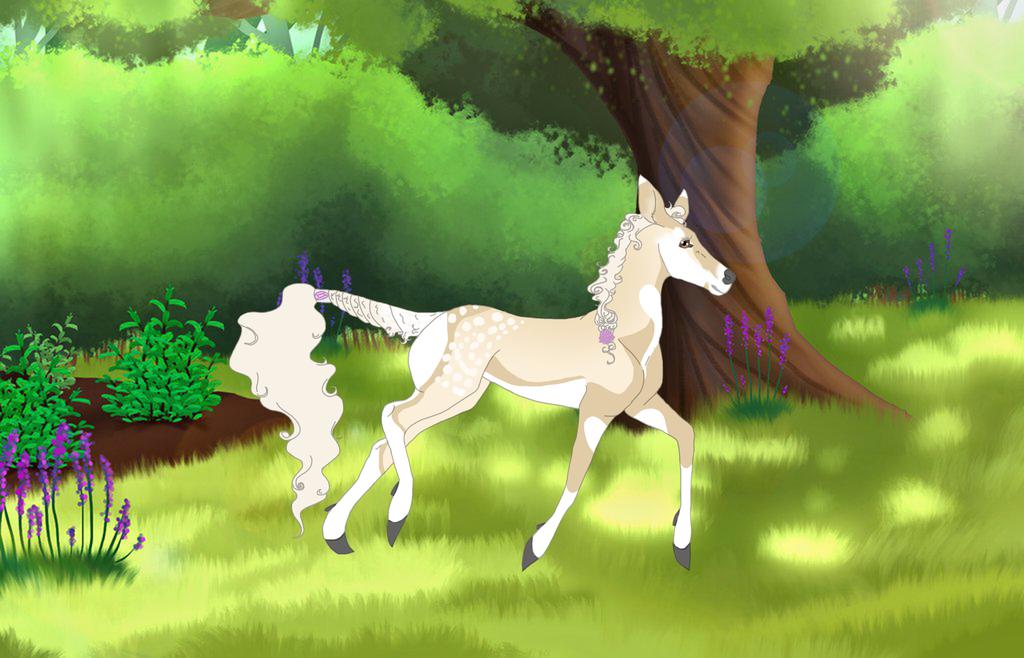 Princess Anar's old ref by Wild-Fawnz