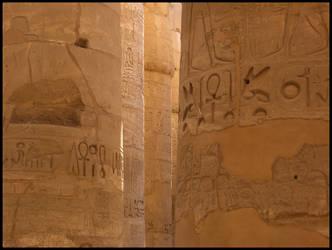 Hieroglyph - Karnak Temple by broadwaydude