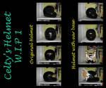 Durarara- Celty Helmet WIP 1