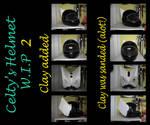 Durarara- Celty Helmet WIP 2