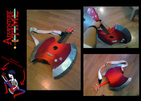 Adventure Time- Marceline's bass ukulele by Lifeconsumer102