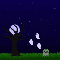 Spooky Scary Graveyard by minimai547