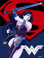Wonder Woman-BvS -DOJ-02 by ChardReyes77