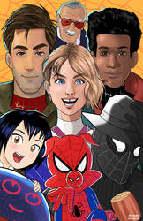 Into the Spider-verse by ChardReyes77