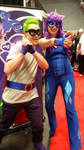 Hum Drum and Radiance (NY Comic Con 2014)