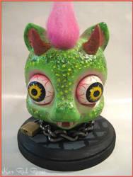 Lil' Green Pony Goblin by KarRedRoses