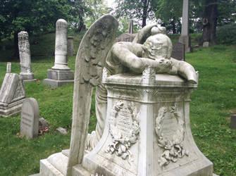 Angel of Grief by KarRedRoses