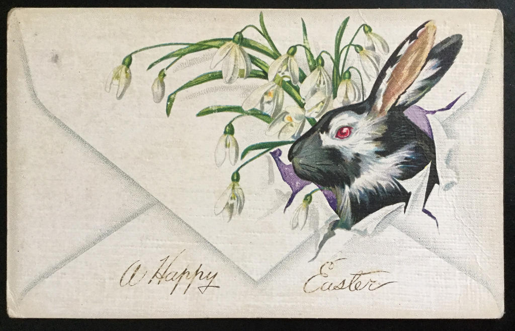 bunnies wallpaper vintage post cards - photo #23