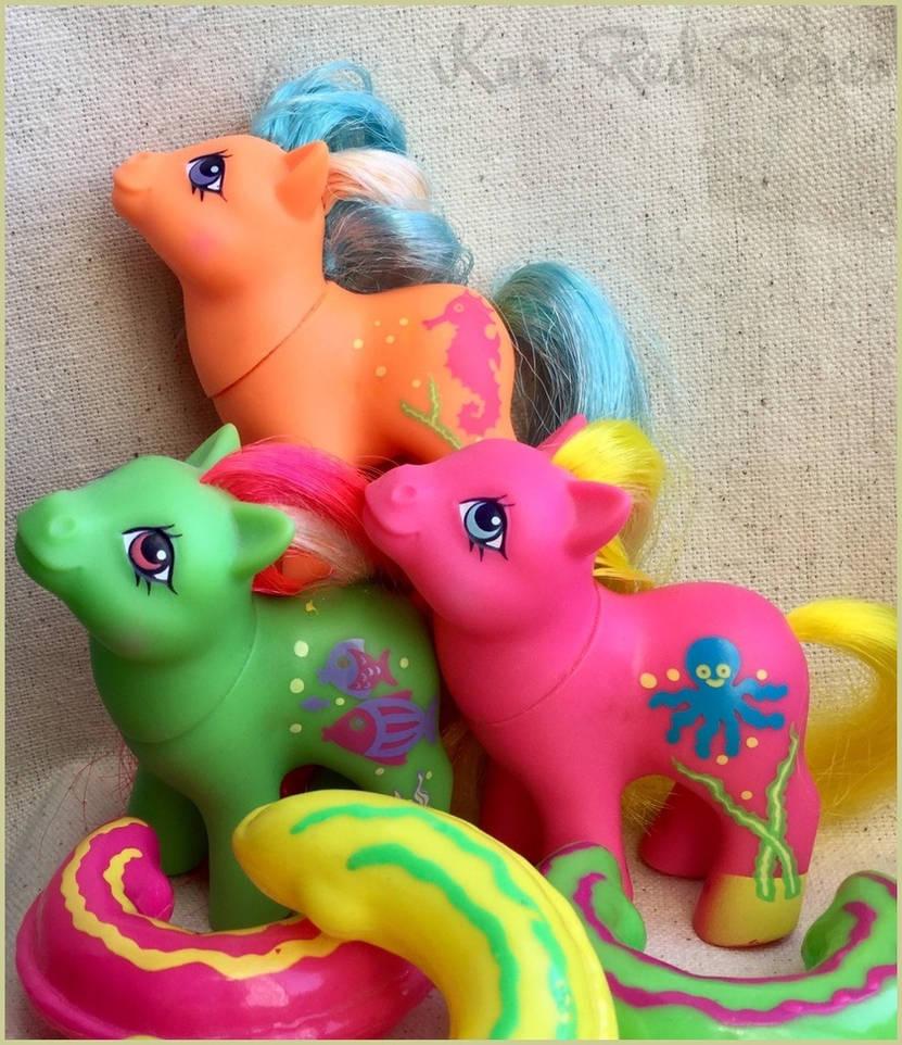 G1 Seaside Baby Ponies