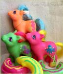 G1 Seaside Baby Ponies by KarRedRoses