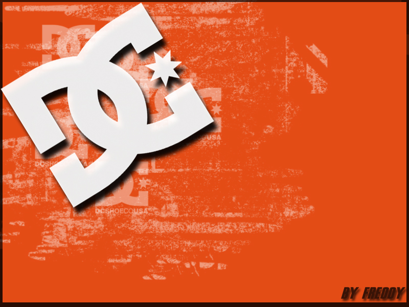 DC Shoes Logo Background