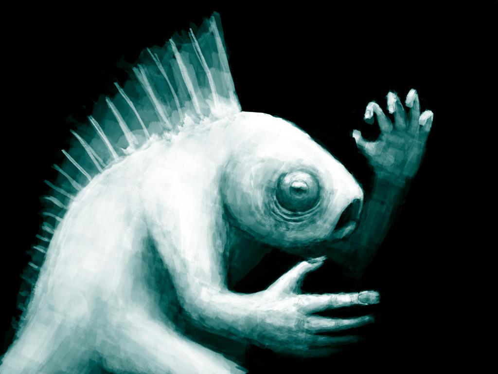 Fish Man by heylister