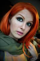 Windranger Makeup by Kinpatsu-Cosplay