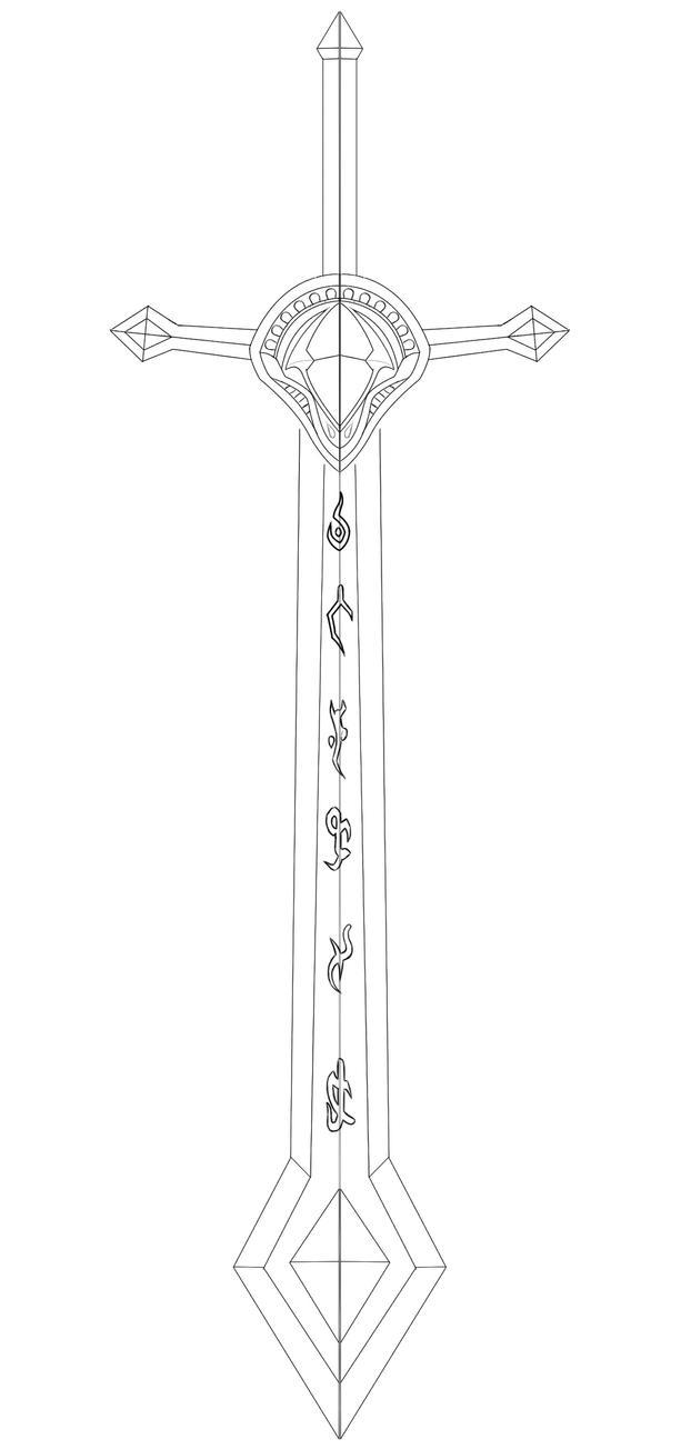 Kayle Sword Template by Kinpatsu-Cosplay