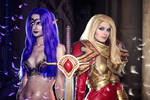 Kayle and Morgana - League of Legends