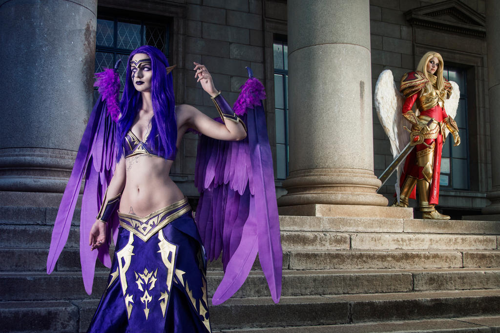 Kayle and Morgana - League of Legends by Kinpatsu-Cosplay ...