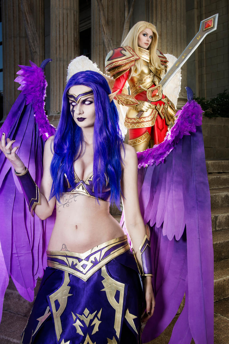Kayle and Morgana - League of Legends by Kinpatsu-Cosplay