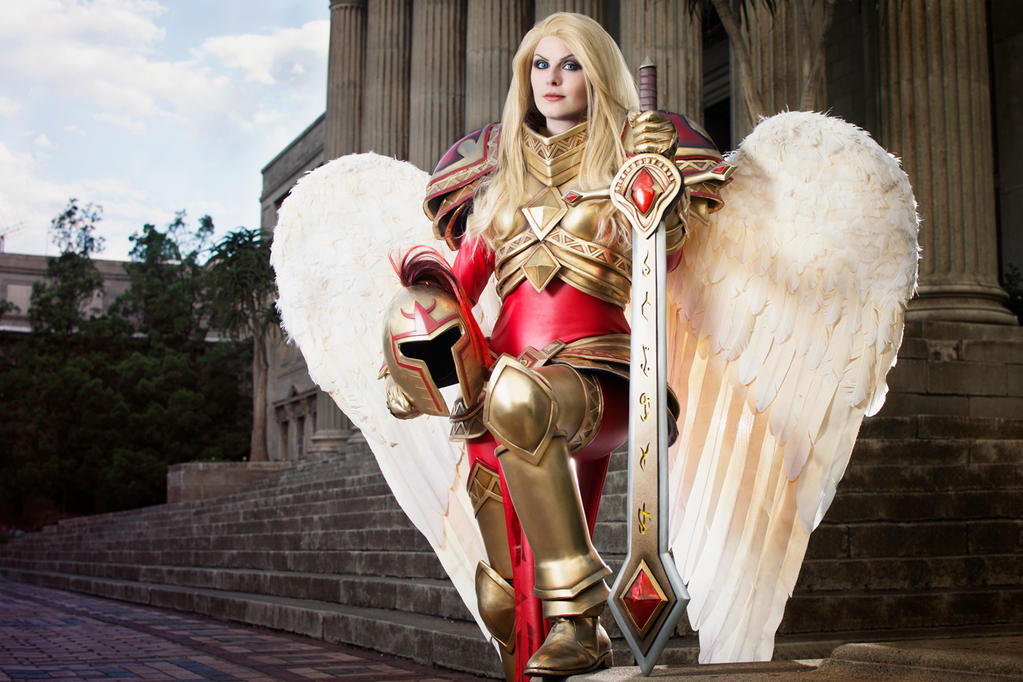Kayle - League of Legends by Kinpatsu-Cosplay on DeviantArt